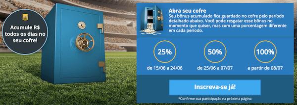 cofre da copa sportingbet ganhe até 100%