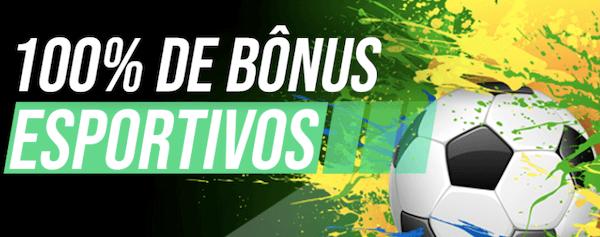 100% bônus esportivos Rio Aposta