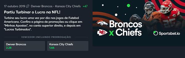 chiefs x broncos turbinar lucro nfl