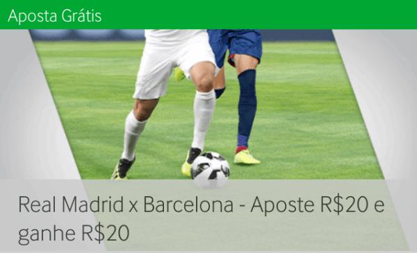 betway real madrid barcelona futebol aposte 20 ganhe 20