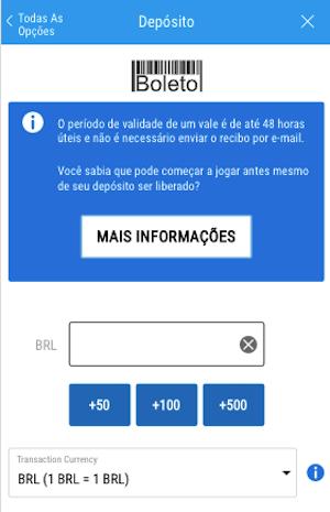 infos deposito boleto sportingbet
