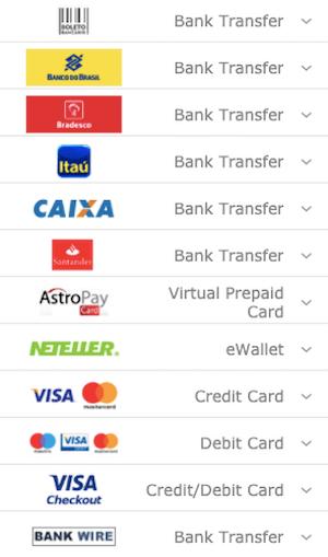 metodos pagamentos bet365 geral
