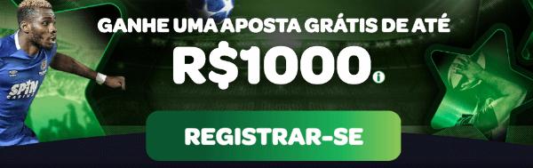 bonus spin sports R$ 1.000
