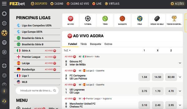 home fezbet brasil apostas