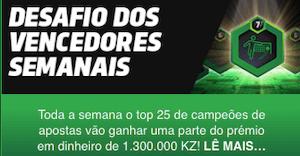 desafio dos vencedores premierbet angola