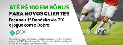 bonus betway R$ 100 PIX